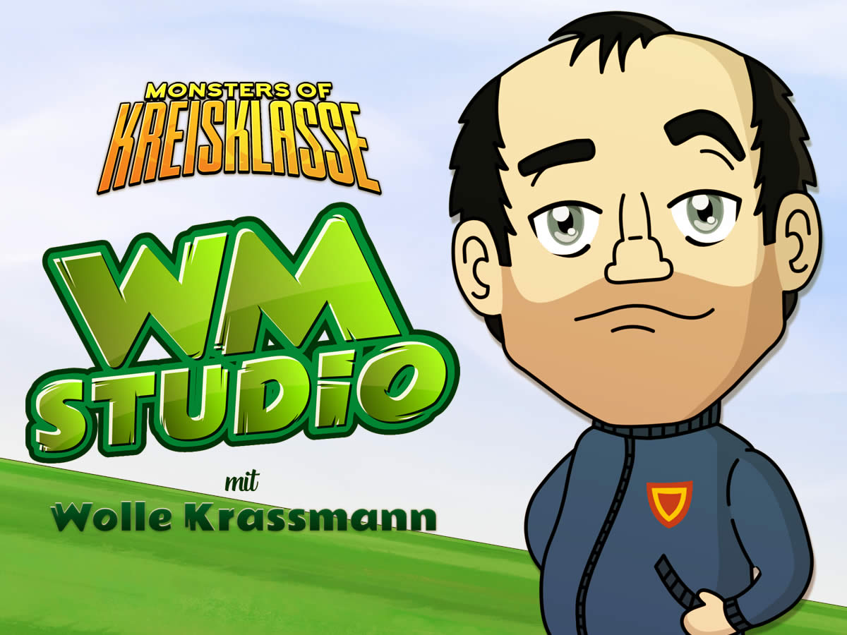 Das Monsters of Kreisklasse WM-Studio mit Wolle Krassmann